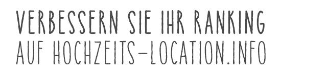 hochzeits-location.info - Die neue Plattform für Hochzeitslocations.